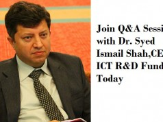 Teamup Organizes a Q&A Session with Dr. Syed Ismail Shah,CEO ICT R&D Fund