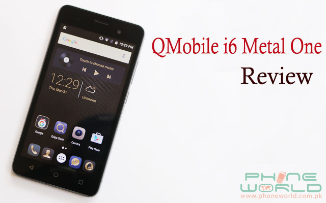 qmobile i6 metal one review price specification