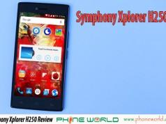 symphony xplorer h250 review price specifications