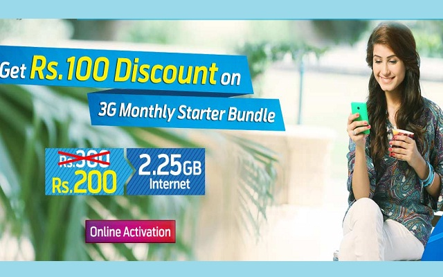 Telenor djuice 3G Monthly Starter Bundle Now Available in Rs 200