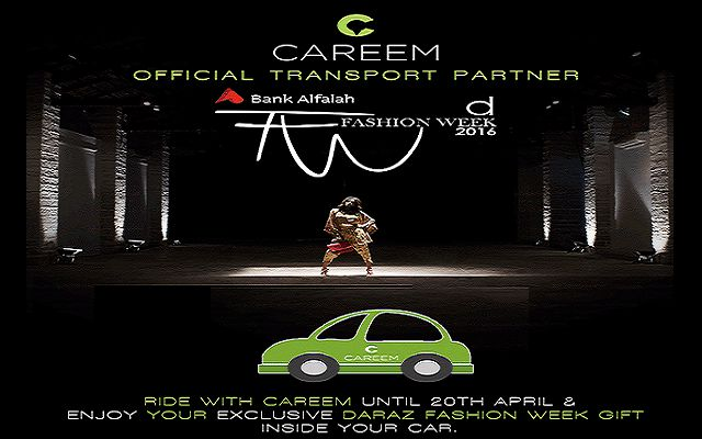 Careem Partners with Daraz for Fashion Week 2016