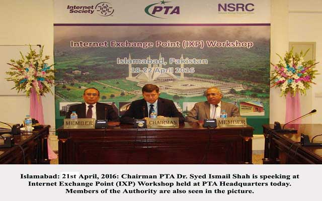 PTA organizes IXP workshop in Islamabad