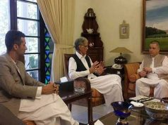 CEO Telenor Pakistan made a courtesy call to the Chief Minister of KPK today