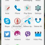 Telenor smart zoom application menu