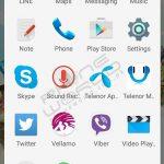 Telenor smart zoom application menu