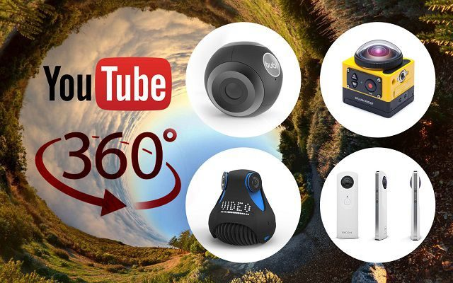 YouTube Now Supports Live Streaming of 360-degree Video