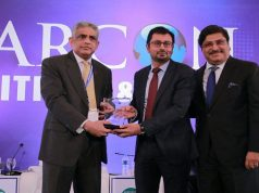 "CEO Haier Mobile Mr.Zeeshan Qureshi Awarded for ""EXCELLENCE"" at MARCON'16"