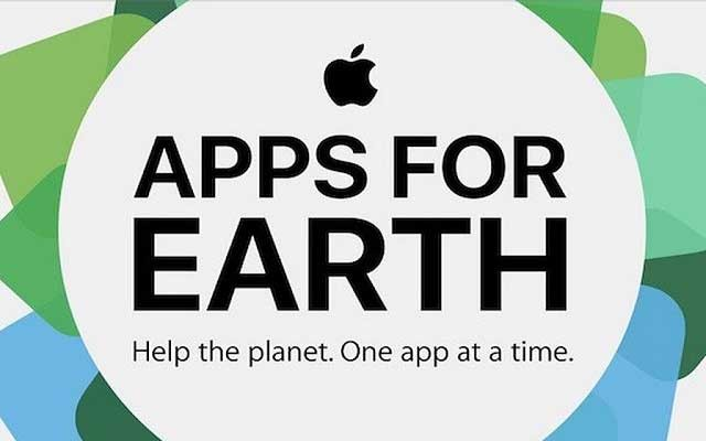 "Apple Launches ""Apps For Earth"" to Save the Earth"