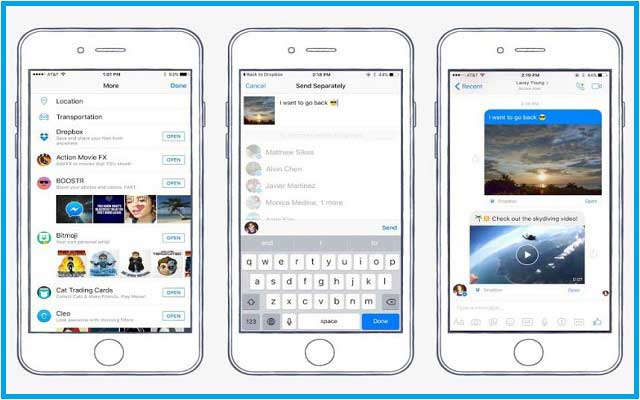 Facebook Integrates Dropbox, now Share File and Video Chat Heads