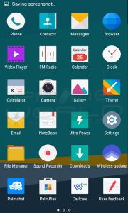 infinix hot 3 android installed app