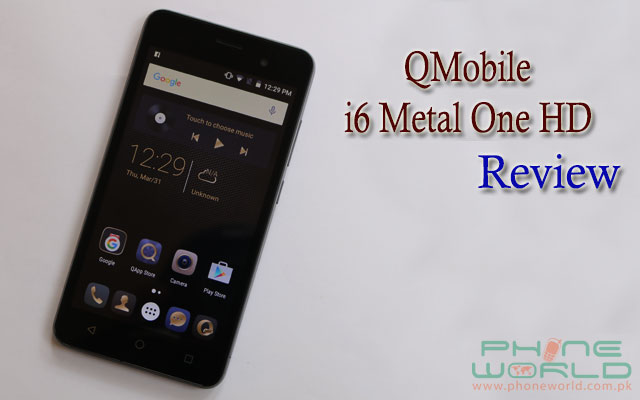 QMobile i6 Metal One HD review price specifications