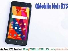 Qmobile Noir X75 Plus Unboxing & Video Review