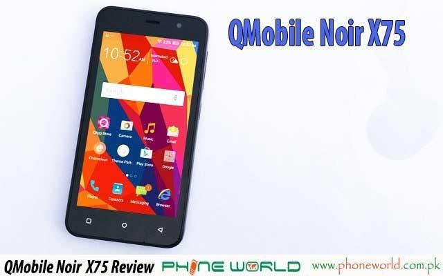 Qmobile Noir X75 Plus Unboxing & Video Review