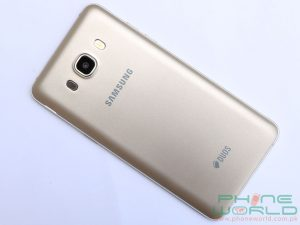 samsung galaxy j5 2016 rear camera with led flash and speaker