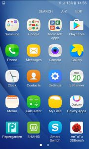 samsung galaxy j5 2016 interface