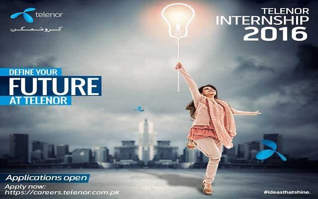Telenor Pakistan launches Summer Internship Program for 2016