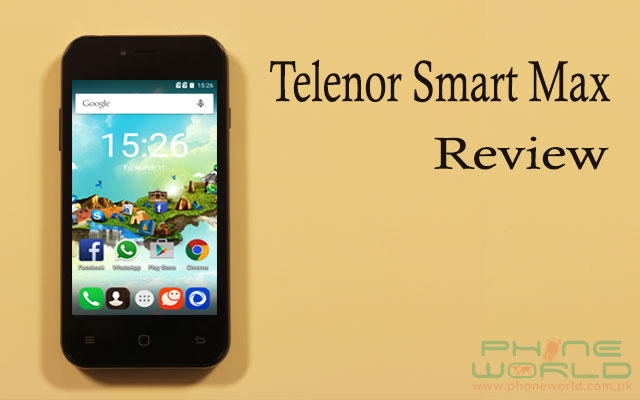 telenor smart max review price and specifications