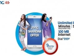 Zong Introduces Shandaar Offer in Just Rs 10