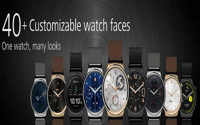 Huawei Smart Watch Offers More Than 40 Dial Faces