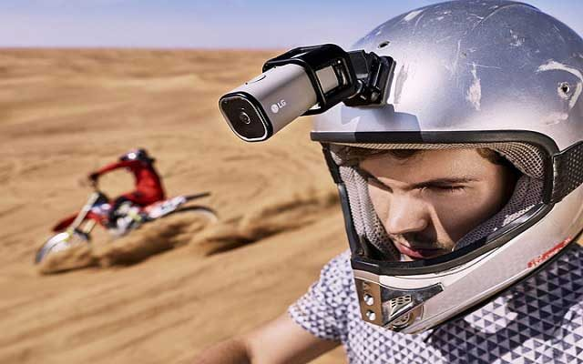 LG Introduces Active Lifestyle Camera with Live Streaming Over 4G