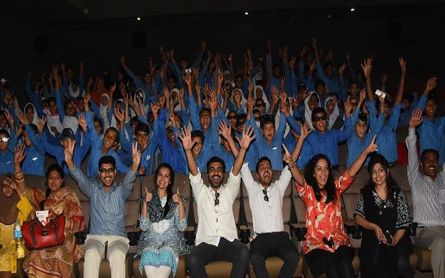 Mobilink Torchbearers Take Pehli Kiran School Students to the Movies