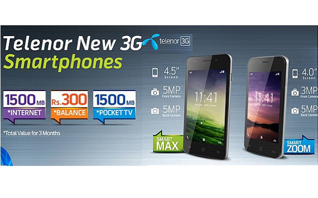 Telenor Launches its 3G Smartphones with Outstanding TVC Campaigns