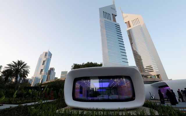World's First 3D-Printed Office Inaugurates in Dubai