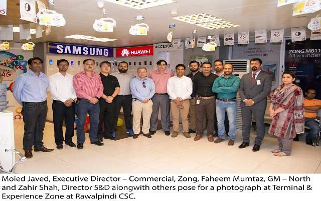 Zong Set-Up State-of-the-Art Terminal & Experience Zong at CSC