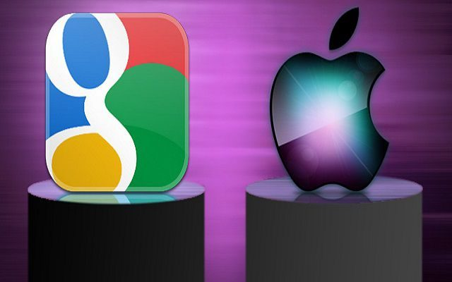 Apple & Google Contesting for Top Position