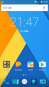 lenovo zuk z1 cyanogen interface