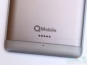 qmobile noir a3 review back cover and speaker