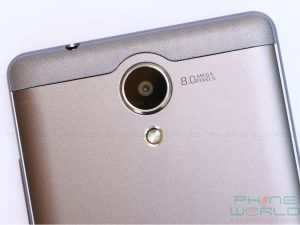 qmobile noir a3 review back cover rear camera