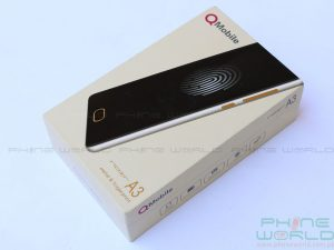 qmobile noir a3 unboxing accesseries