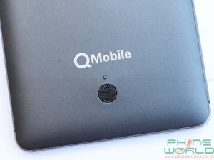 qmobile noir a6 speaker on back