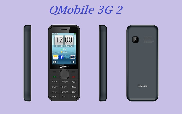 QMobile Brings Bar Phone 3G 2 at very Low Price of Rs 2850