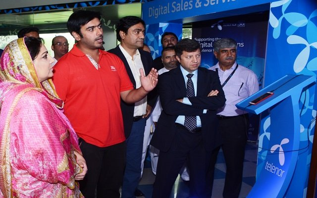 Anusha Visits Telenor Digital Festival Lab in Islamabad
