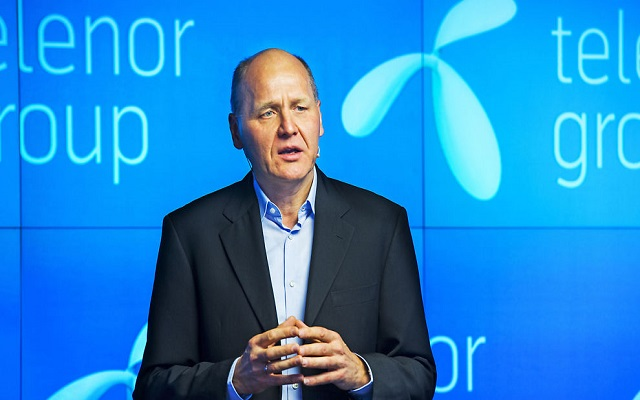 Telenor Group CEO Sigve Brekke Visits Pakistan
