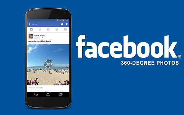 Facebook Now Lets You Change Your Panoramas into 360-degree Photos