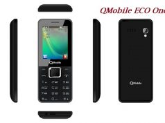 QMobile Launches Bar Phone ECO One at very Low Price of Rs 1850