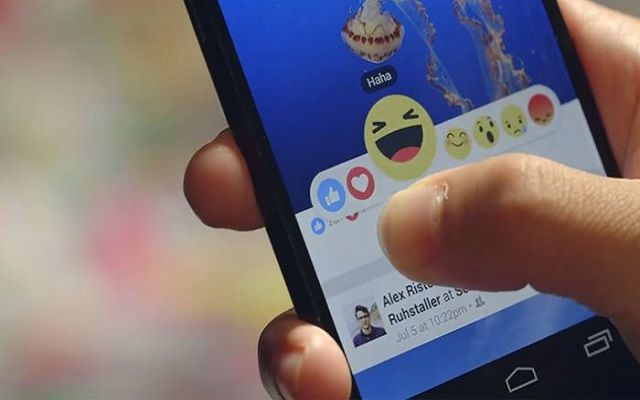 Facebook Adds Reactions
