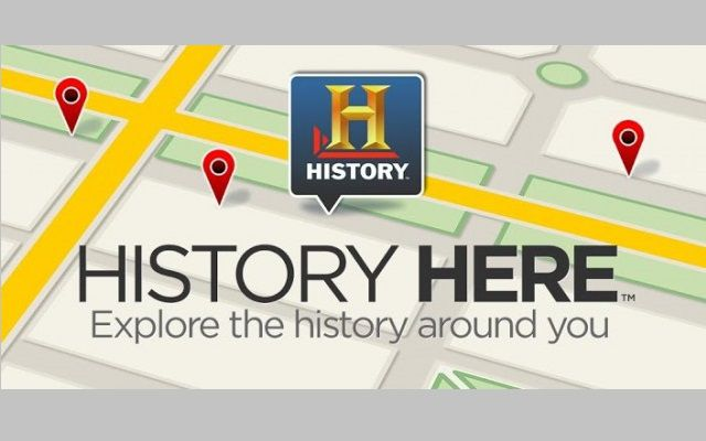 Now Explore Around with an Amazing History Here App