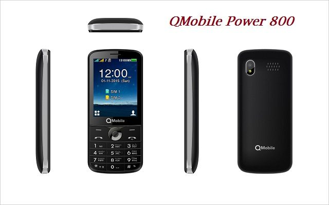 Now with QMobile Power800 Share Power with other Devices