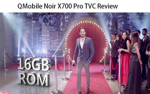 QMobile Launches Noir X700 Pro TVC Featuring Emraan Hashmi