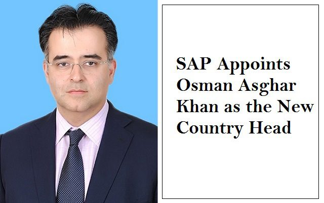 SAP Appoints Osman Asghar Khan as the New Country Head