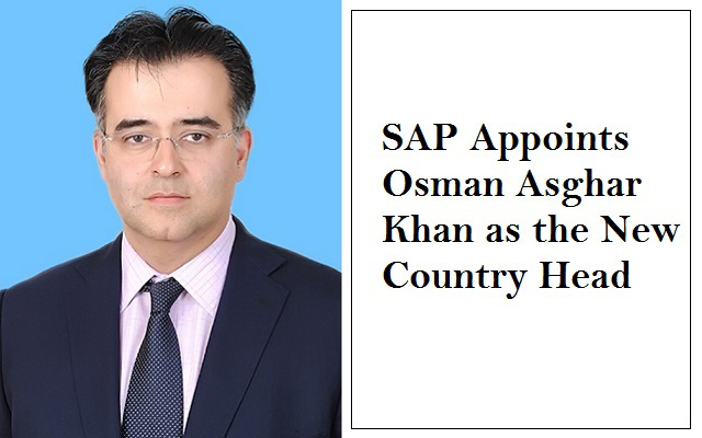 SAP Appoints Osman Asghar Khan as the New Country Head