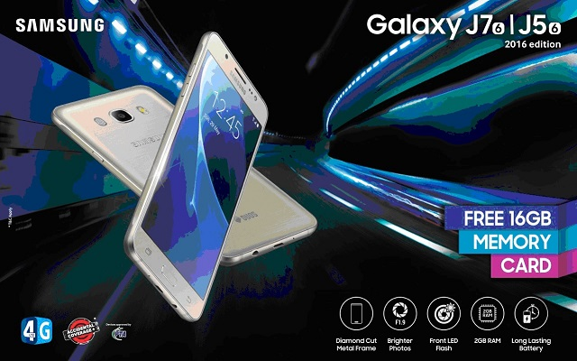 Samsung Launches the Powerful New Galaxy J5 2016 Smartphone