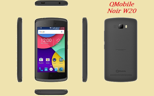 QMobile Launches Noir W20 at very low Price of Rs 4999