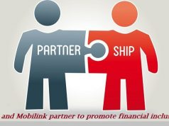 ABL and Mobilink partner to promote financial inclusion and domestic remittance