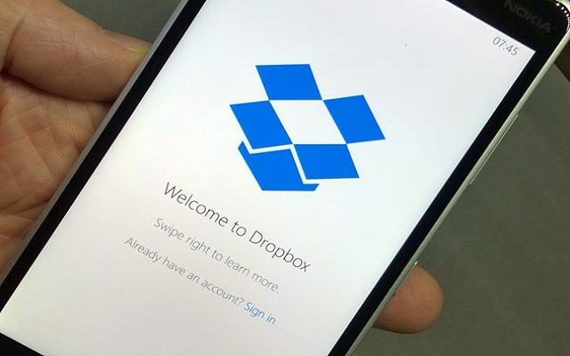 Dropbox Provides Document Scanning Capability to its iOS App