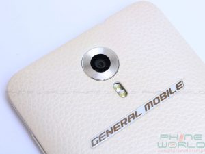 general mobile 4g dual rear camera and dual led